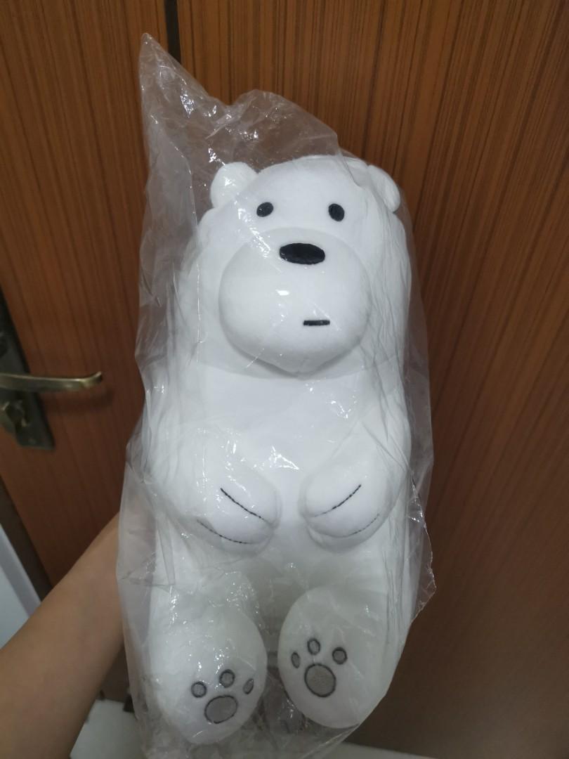 BNIB Miniso WeBareBears - Ice Bear