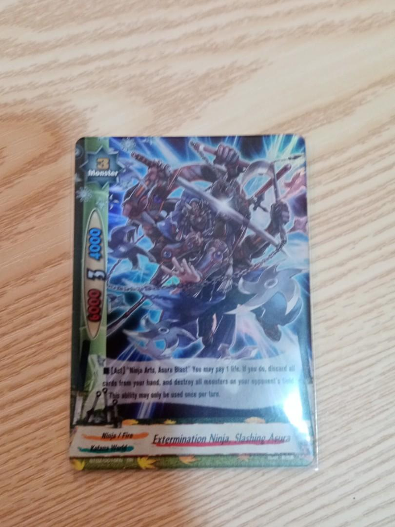 Buddyfight (rr double rare) Extermination Ninja, Slashing Asura