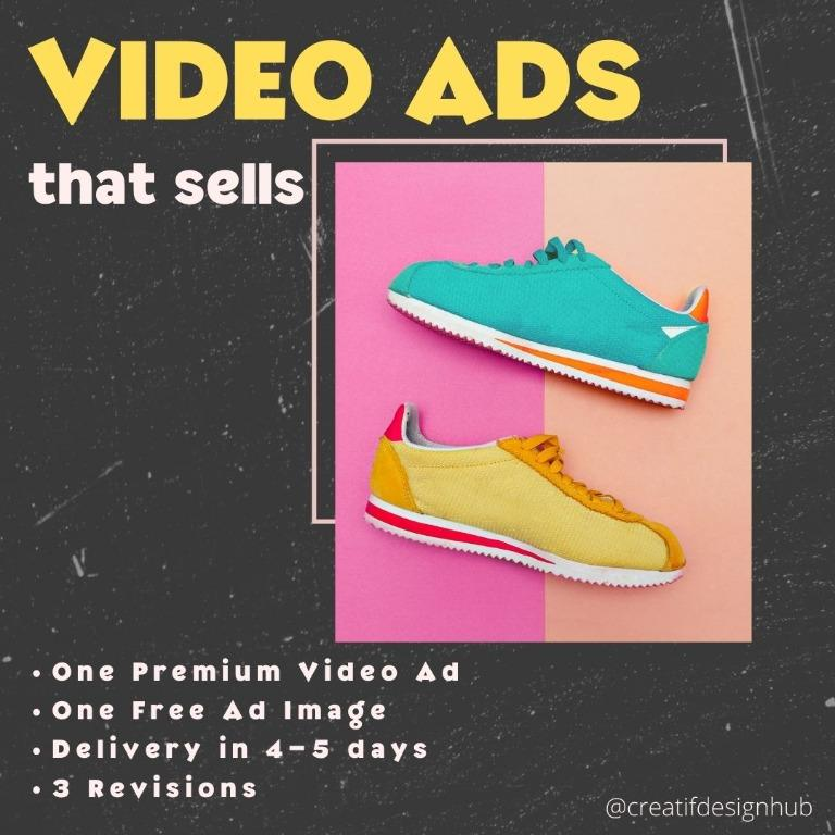 [CA] Product Video Ads / Dropshipping Video Ads