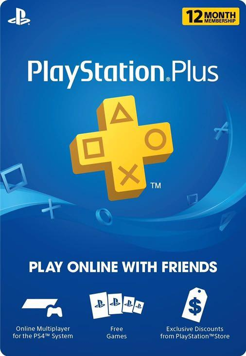 CHEAP PS PLUS 1 YEAR SUBSCRIPTION (For ps3, ps4)