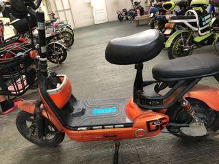 E bike with charger