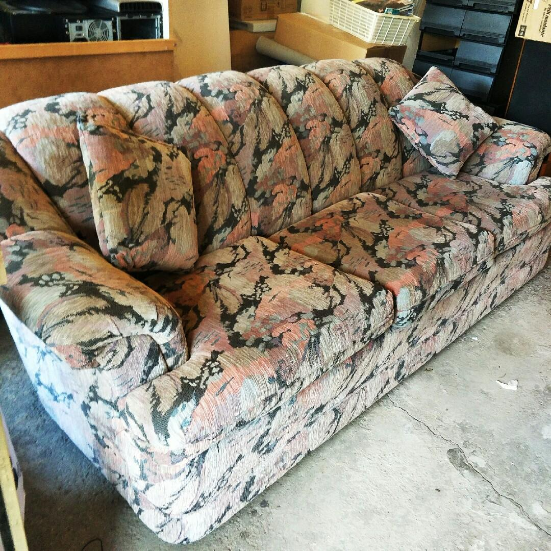 Elegance Fabric 1+3 Seater Couch