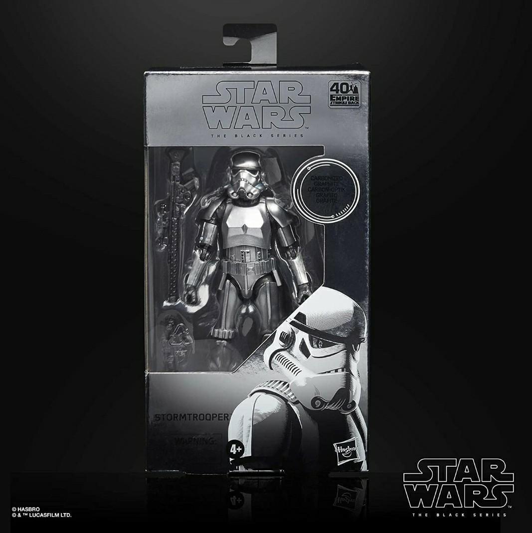 Hasbro star wars 1 black series stormtrooper carbonized