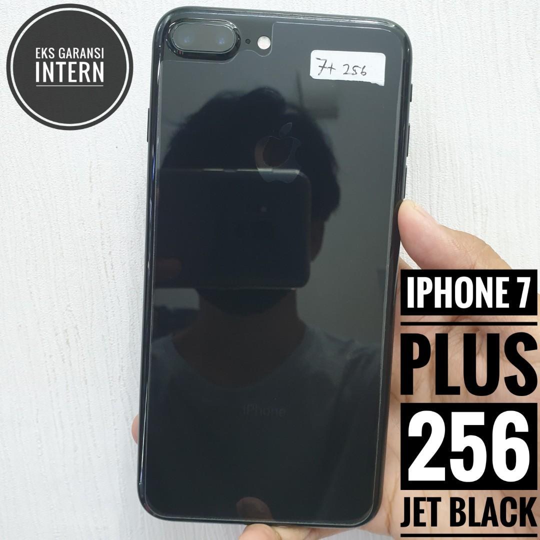 iPhone 7 plus 256 Jet Black, Intern