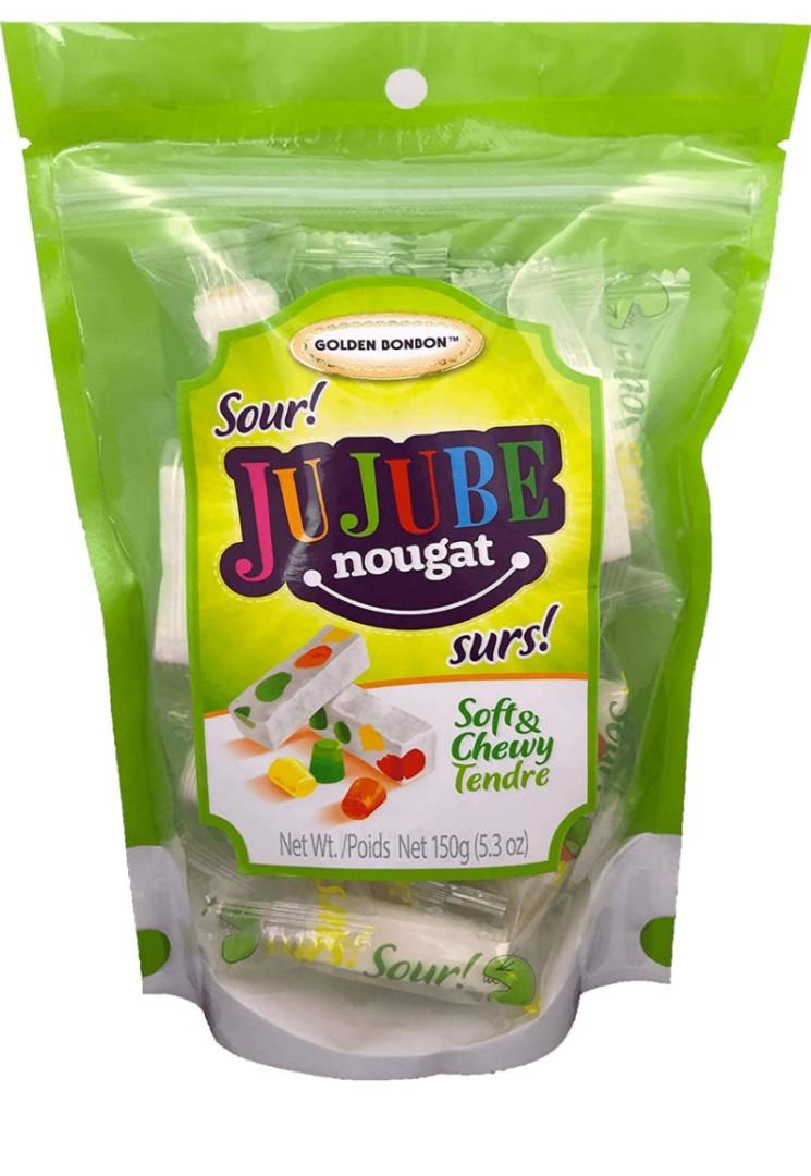 Italian Jujube Nougat Soft & Chewy Sour Candy (Sour)