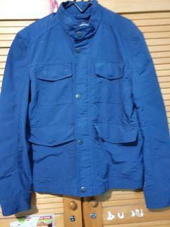 Jacket Tom Tailor, bahan parasut
