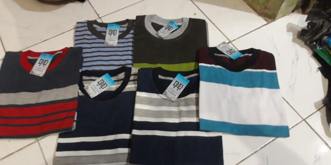 Kaos Garis Garis untuk Anak | Atasan