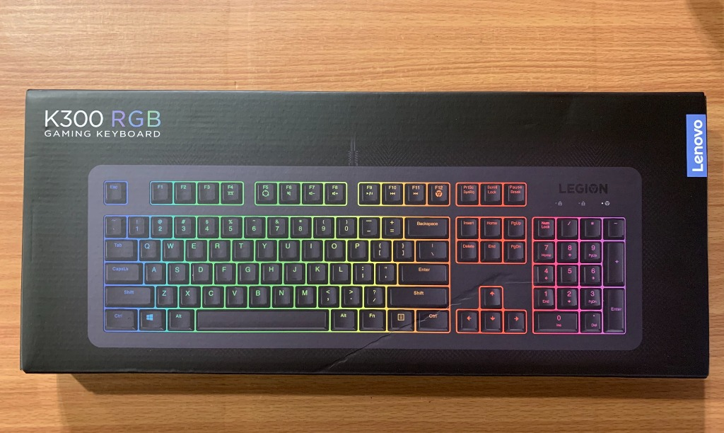 Lenovo Legion K300 RGB Gaming Keyboard, Computers & Tech, Parts &  Accessories, Computer Keyboard on Carousell