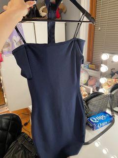 Marciano Isabella choker bandage dress