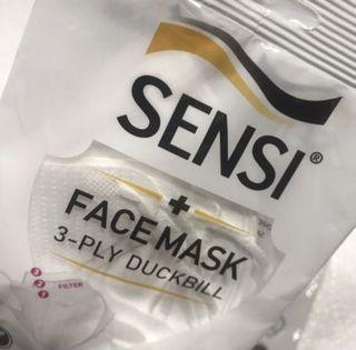 Masker Sensi Duckbill 3pcs