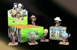 Mighty Jaxx One Piece Full Set with Hidden Luffy