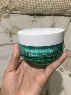 Moisturizer axis y duo cream