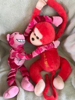 Monkey Stuffed Toy Bundle
