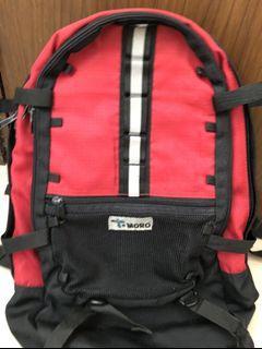 MORO 輕盈背囊camp bag 跑步 行山backpack背包旅行 實用袋