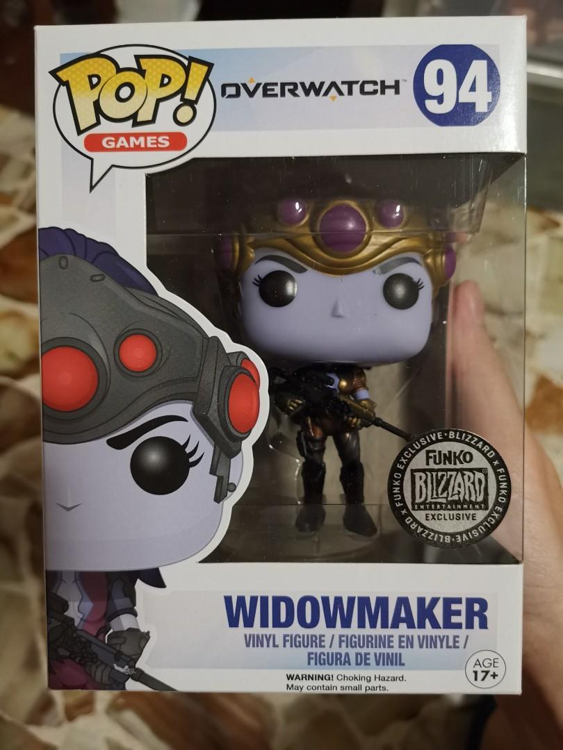 Overwatch Patina Widowmaker Funko Pop