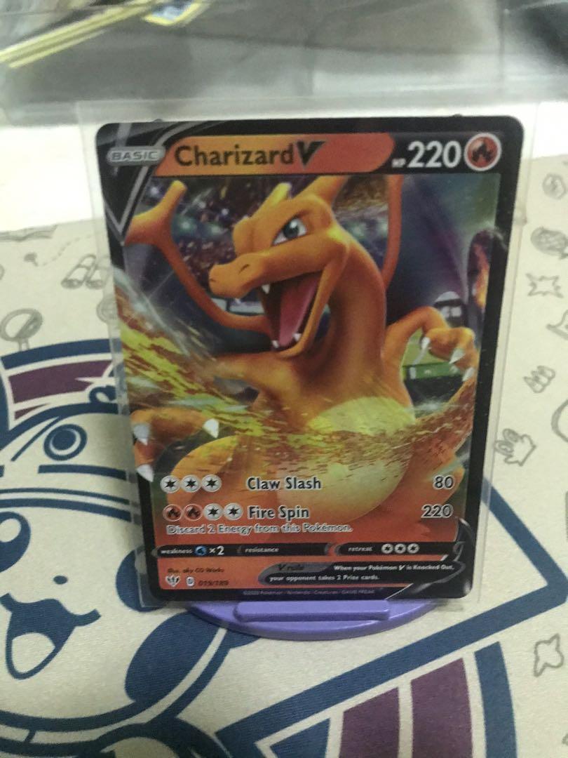 Pokemon TCG  Darkness Ablaze Charizard V