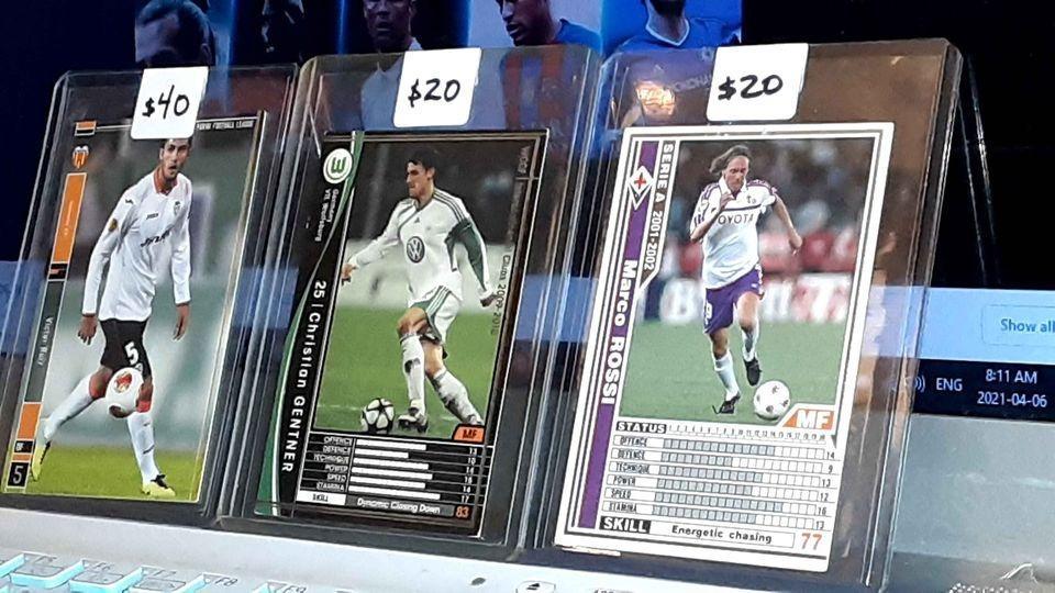 ***RARE and UNIQUE Cards*** Soccer Universe