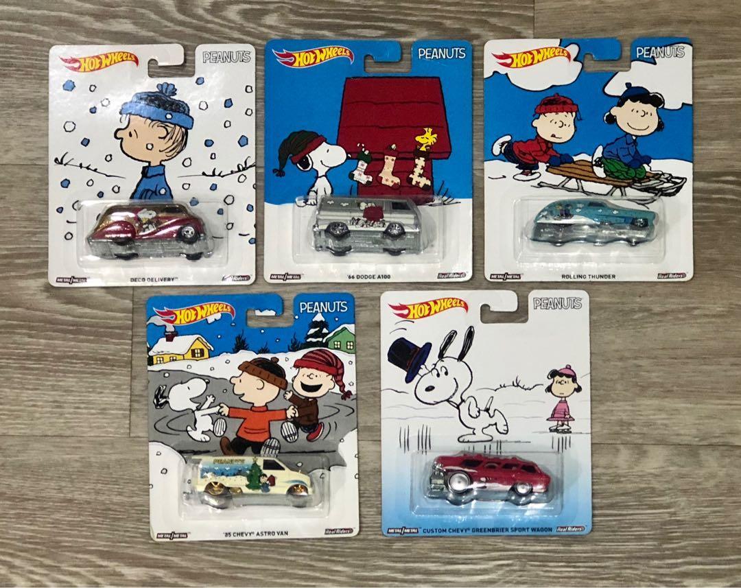 Sale! Hot Wheels Peanuts Pop Culture