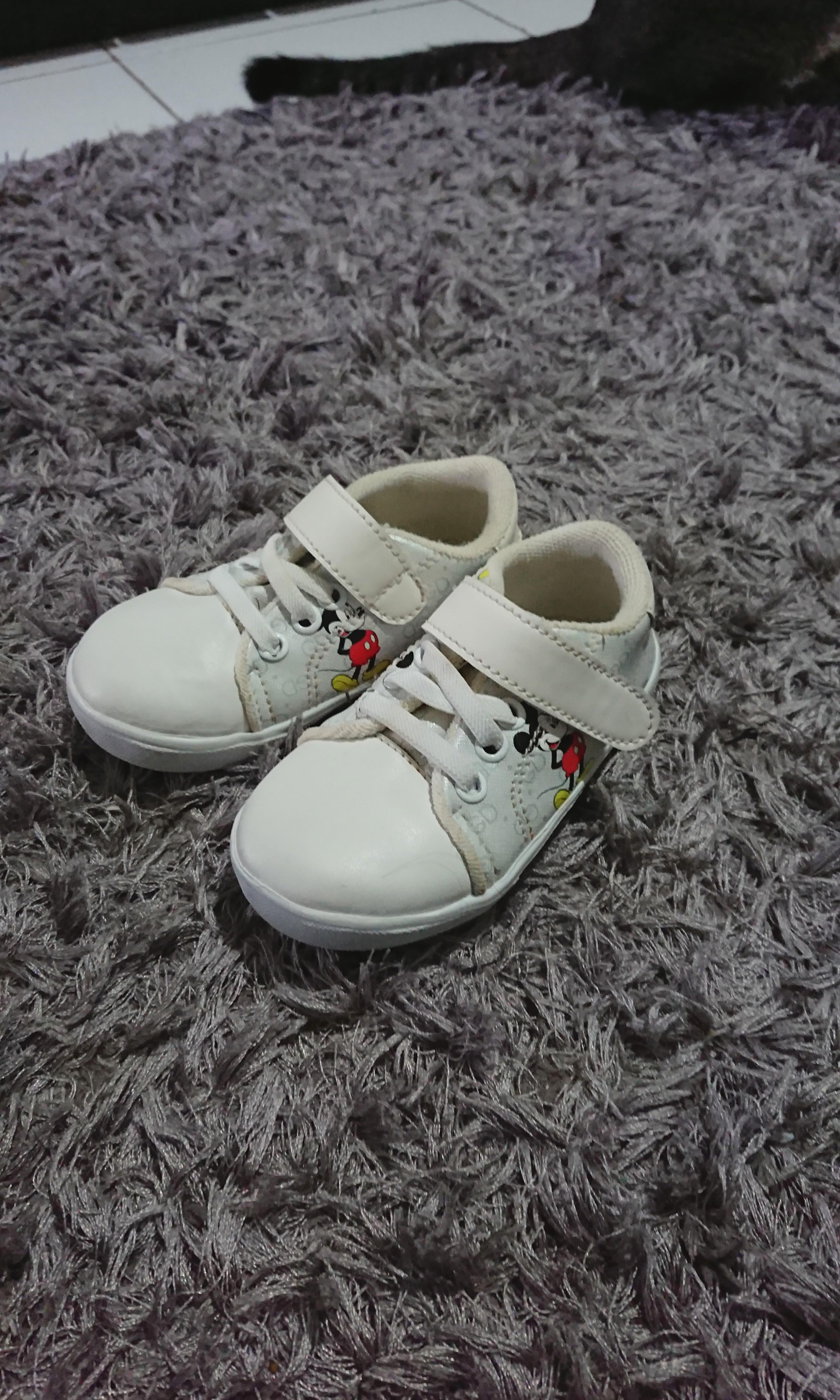 Sepatu Anak Bayi Micky Putih