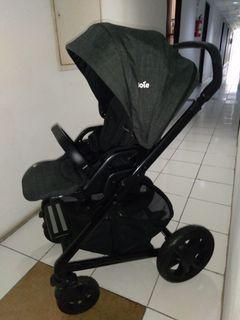 Stroller JOIE Chrome Dlx Black