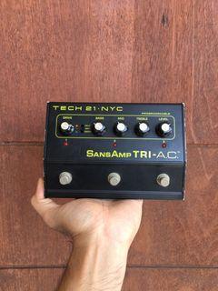Tech21 Sansamp tri ac preamp