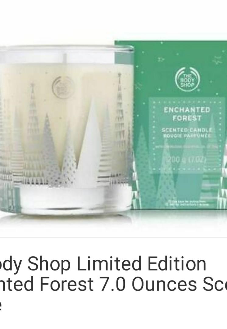 The Body Shop ENCHANTED FOREST Scented Candle