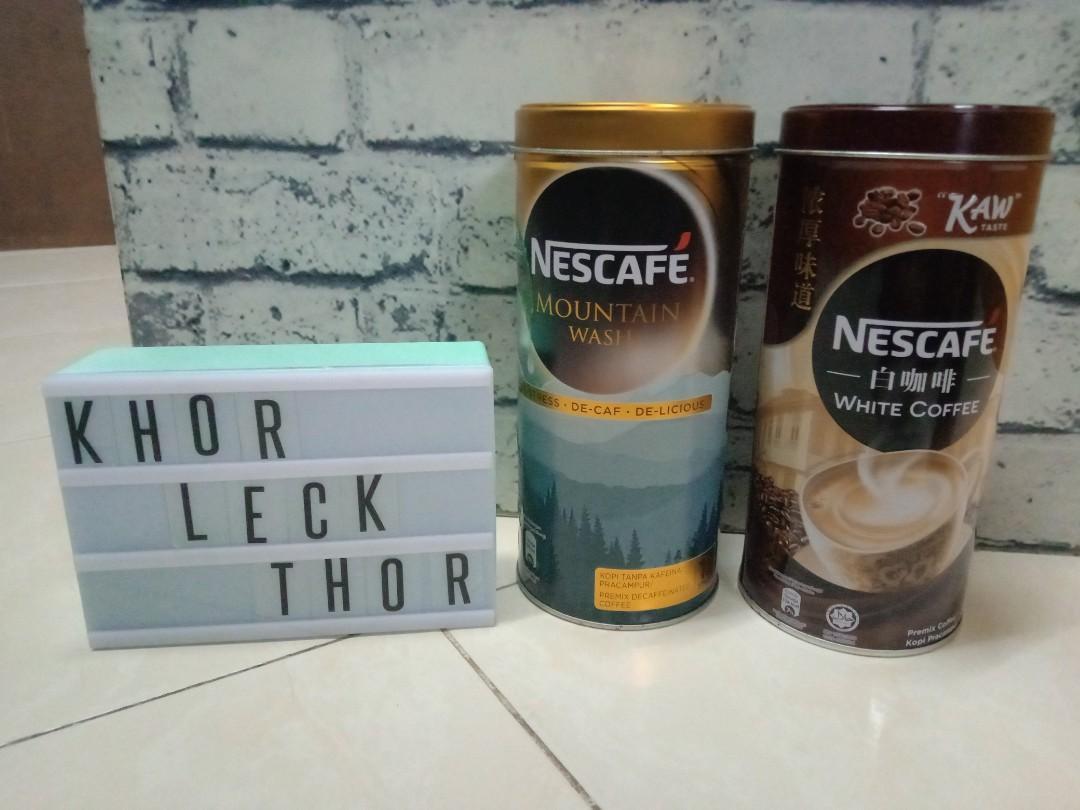 Tin Nescafe