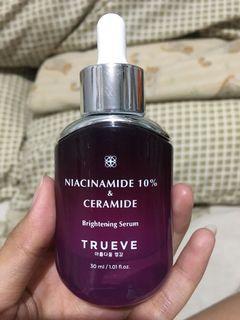 Trueve  niacinamide 10% & ceramide brigthening serum