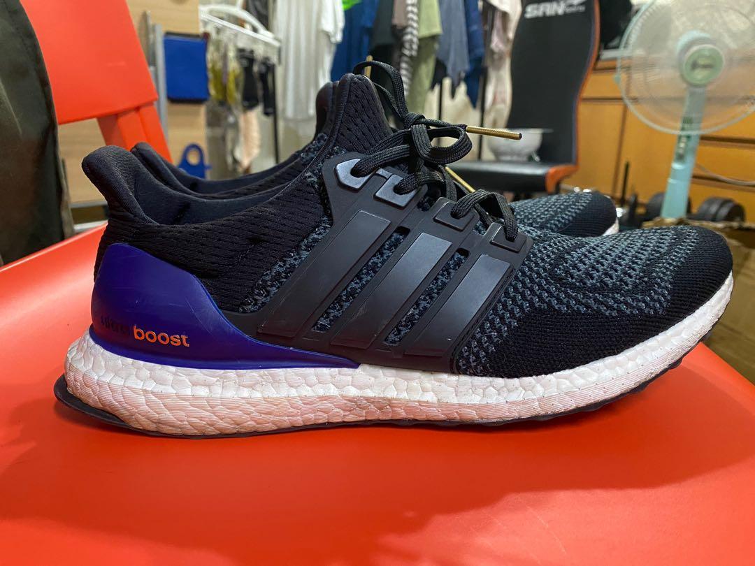 Ultra boost 黑紫 10號