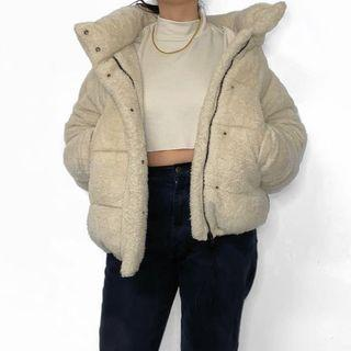 URBAN OUTFITTERS TEDDY PUFFER JACKET
