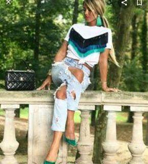 Zara Tshirt White