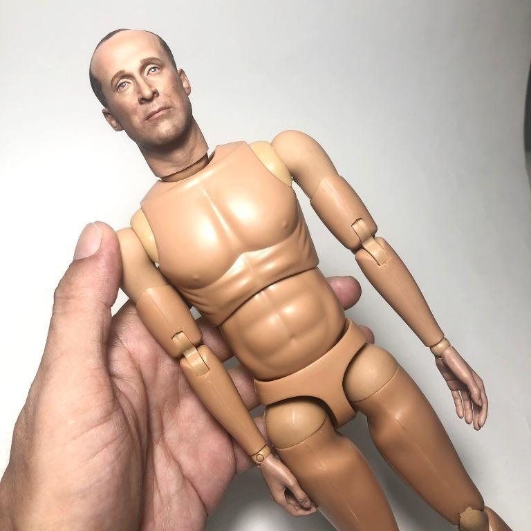 """1/6 Scale DID Ralph Fiennes Head Sculpt/Body for 12"""" action figure"""