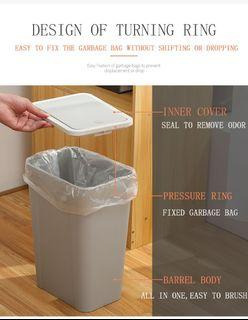 16L Pushtype Trash Bin