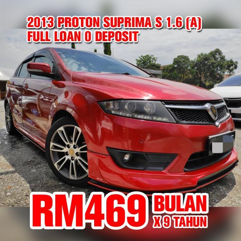 2013 Proton Suprima S 1.6 Turbo (Auto)