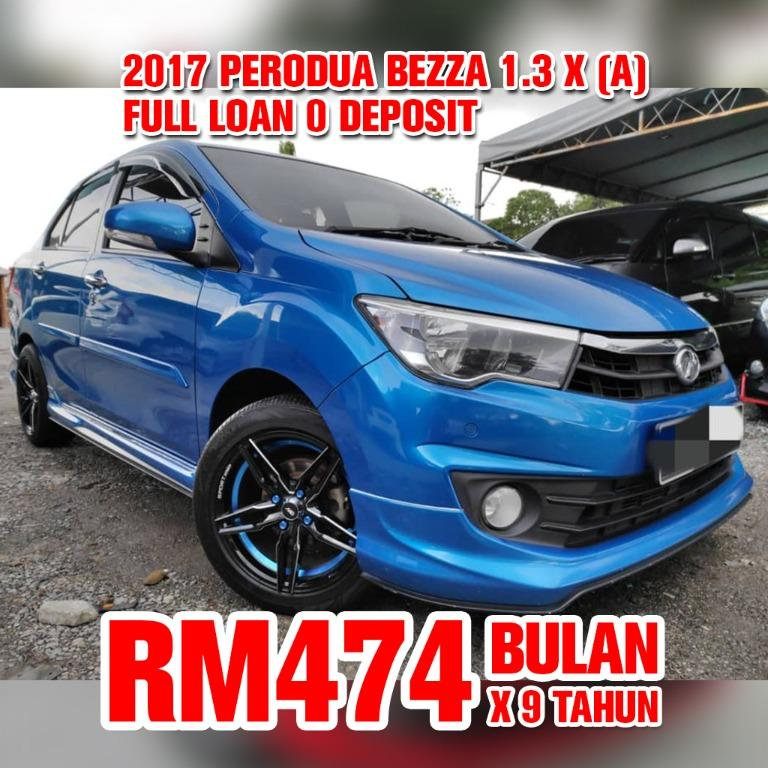 2017 Perodua Bezza 1.3 X (Auto)