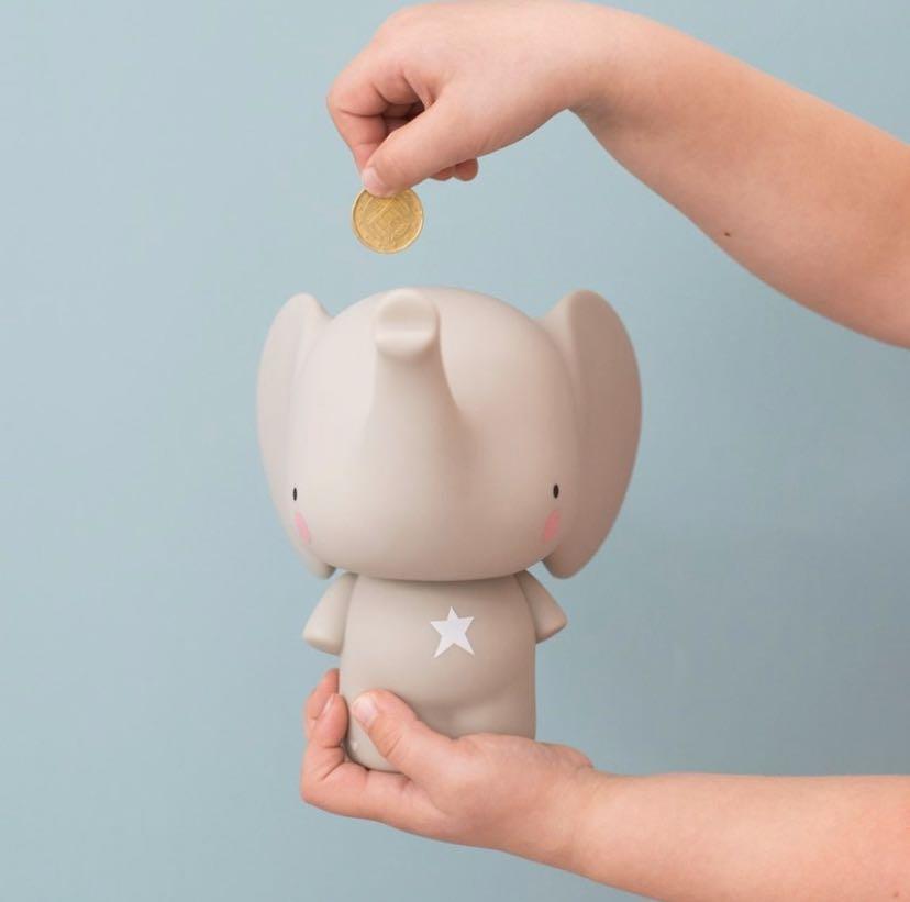 超可愛大象存錢筒