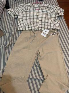 衣服+褲子