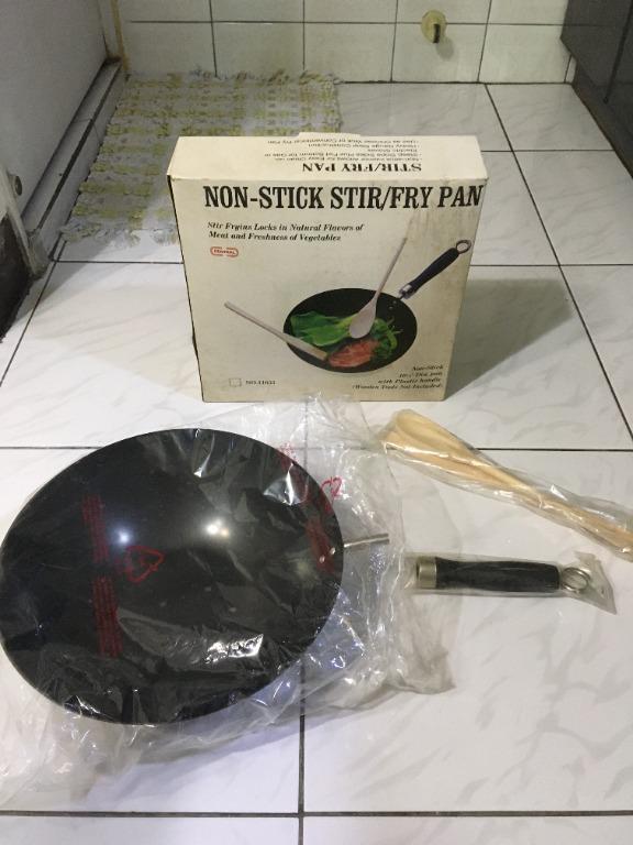 【專賣二手物】[全新]鑄鐵炒鍋組