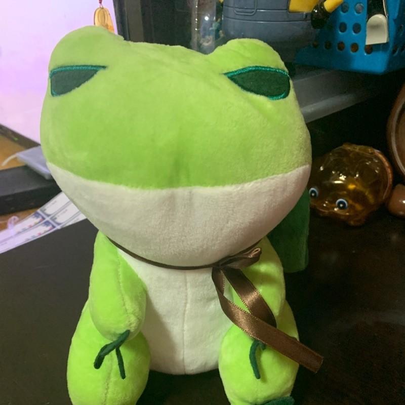 旅行青蛙玩偶