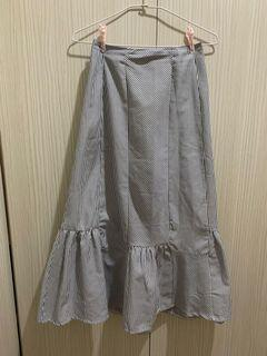 棉麻材質魚尾裙