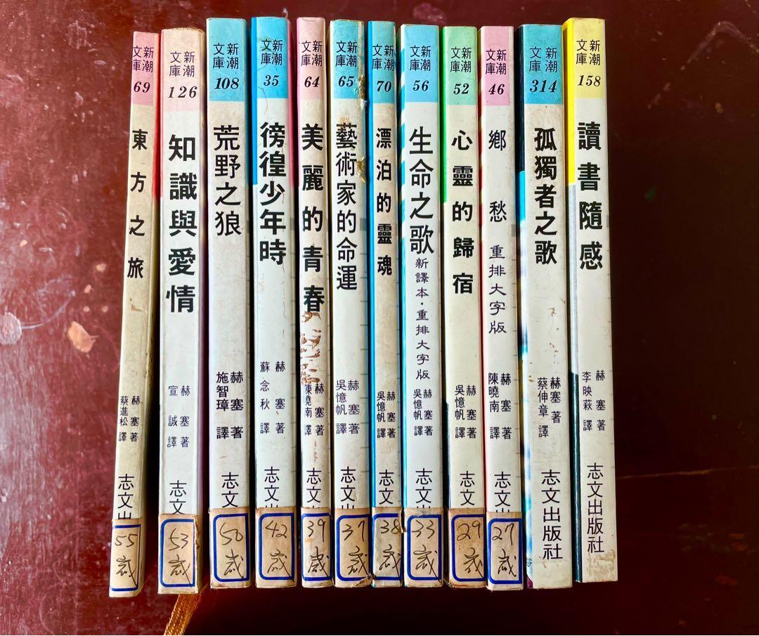 赫塞 全集 (共12本)
