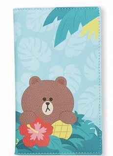 全新 鴻福堂 Line Friends 快樂假期版 旅行證件套