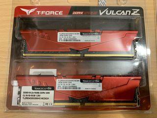 十銓 T-Force VulcanZ DDR4-3200 32GB(16G*2) 雙通道