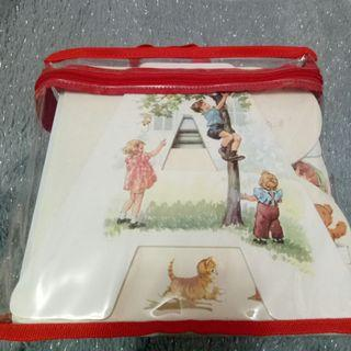 ALPHABET BOOK BAG - DICK & JANE