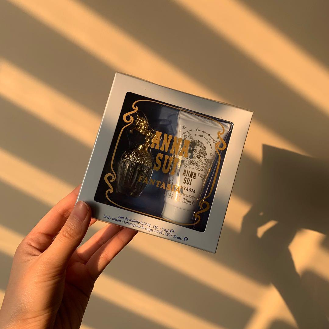 Anna Sui安娜蘇童話獨角獸浪漫香氛組
