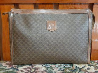 Authentic Celine Macadam Extra Large Pouch for Men and Women