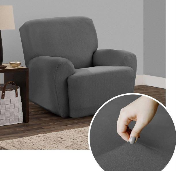 Brand new  4-Piece Soft Touch Stretch Recliner sofa Cover