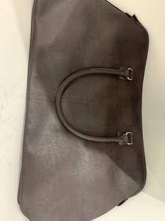Brown leather bag new