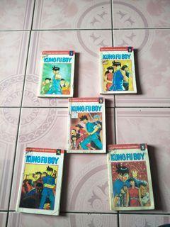 """Buku komik """"new""""kungfu boy jilid 1-5"""