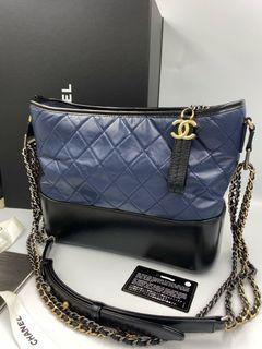 Chanel 藍色流浪包
